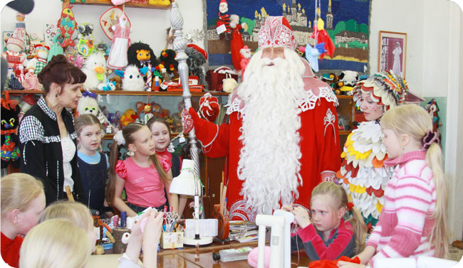 Мастер-классы в Резиденции Деда Мороза