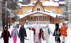 Театрализованное представление в Резиденции Деда Мороза